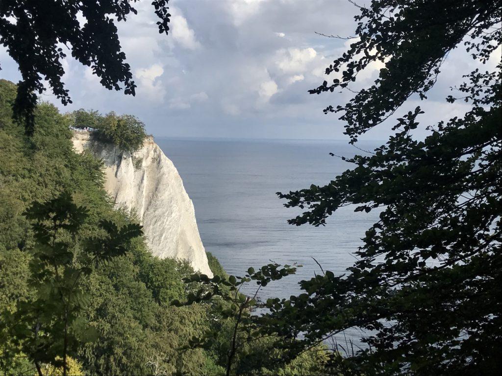 Die Stubbenkammer mit dem bekanntesten Kreidefelsen: Dem Königsstuhl Rügen
