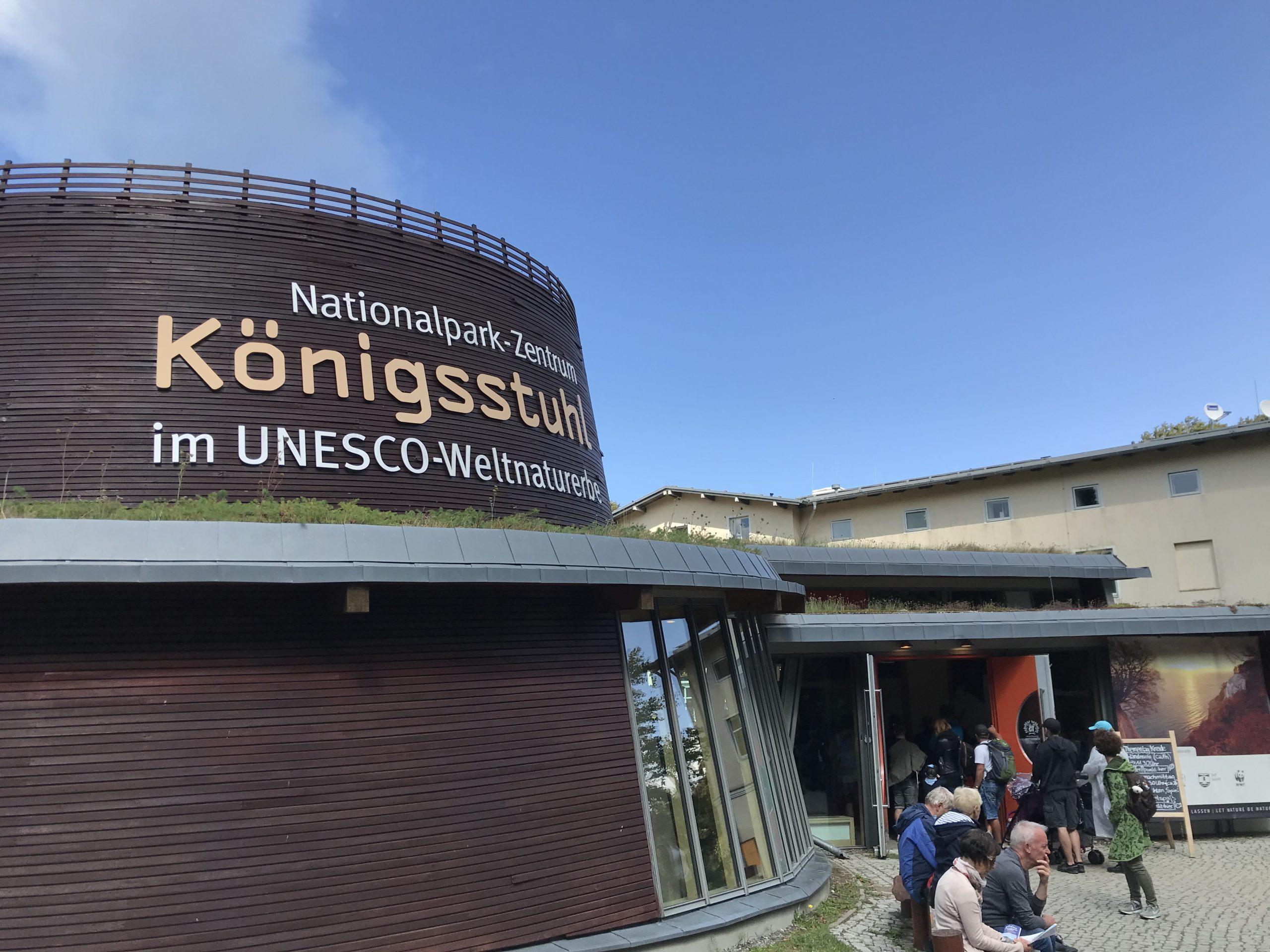 Königsstuhl Rügen - das Nationalparkzentrum