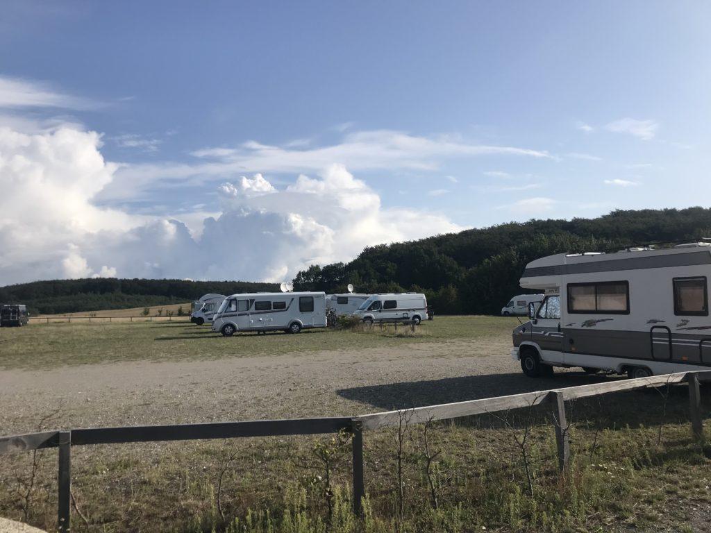 Kreidefelsen Rügen Parken - auch mit dem Wohnmobil