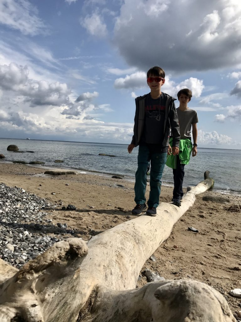 Kreidefelsen Rügen Wanderung mit Kindern
