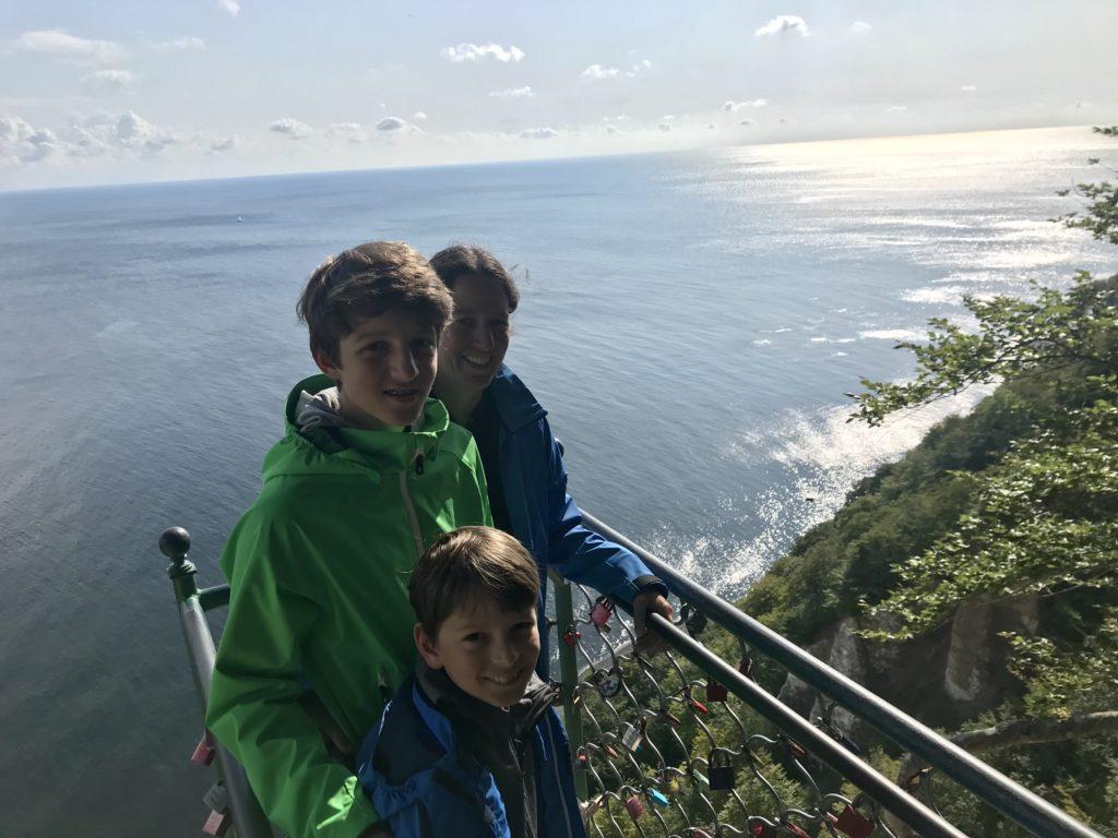 """Entlang der Kreidefelsen Rügen wandern zum Aussichtspunkt """"Victoriasicht"""""""