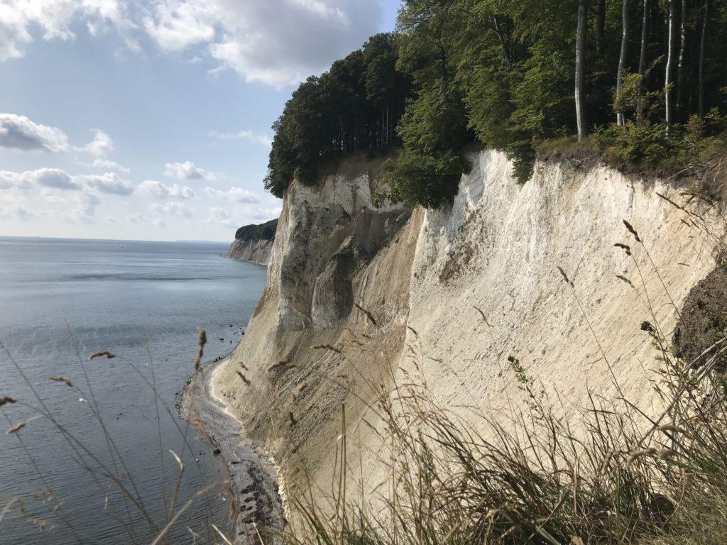 Wissower Klinken oder lieber Kreidefelsen Rügen Strandweg wandern?