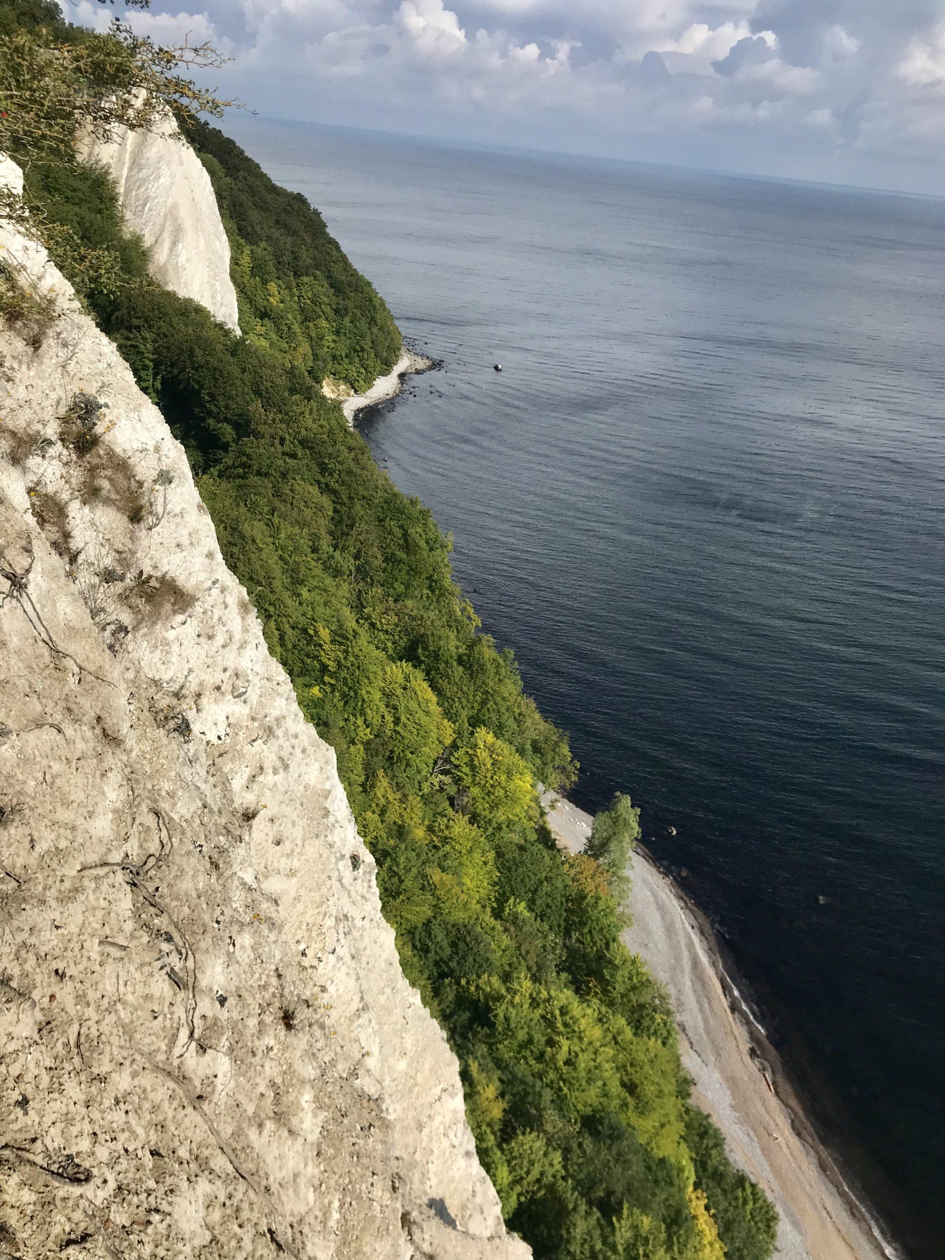 Grosse Stubbenkammer von der Königsstuhl Aussichtsplattform gesehen